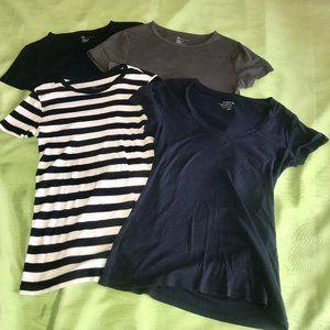 Gap / Old Navy Short Sleeve T-Shirt Bundle Sz M